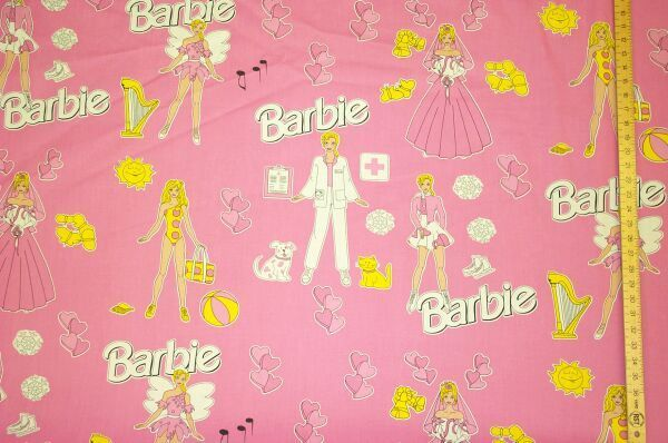 Bed Sheeting - Barbie