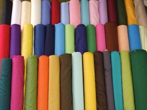 Polycotton Plain Colours