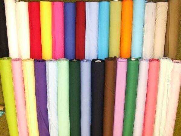 Pure Cotton Plain Fabric