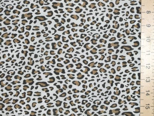 Polycotton Prints - Cheetah Print