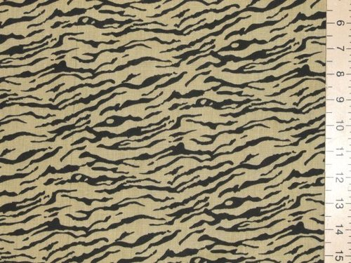 Polycotton Prints - Tiger Print