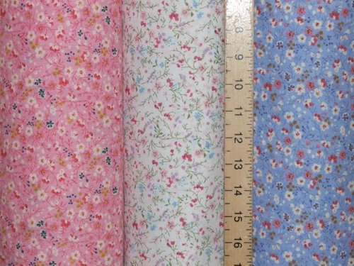 Sweet Meadow Printed Polycotton