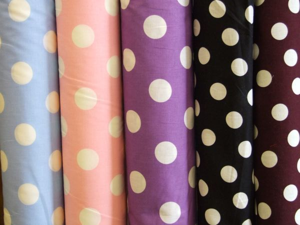 "Cotton - Large Polka Dot (58"" wide)"