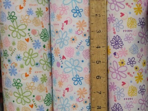 Printed Daisey Pure Cotton