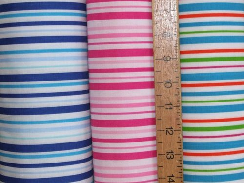 Multi-stripe Polycotton