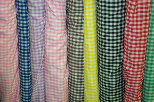 Cotton Gingham 6mm