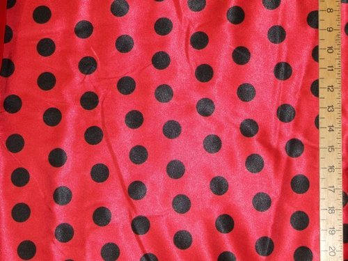 "Polka Dot Satins (60"" wide)"