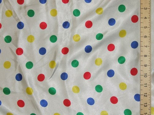 "Polka Dot Satin (58"" wide)"