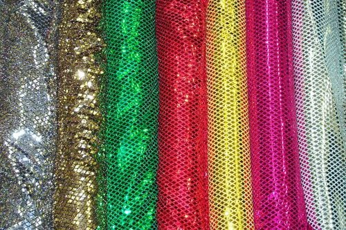 Diamond Sequins Fabric