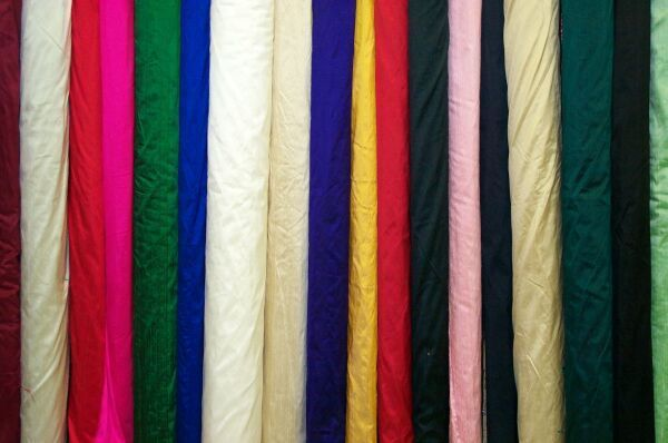 Pure Raw Silk / Silk Dupion