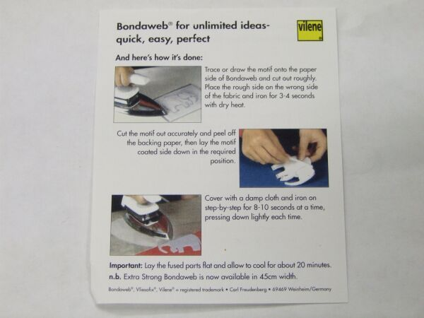 Bondaweb - Double Side Adhesive