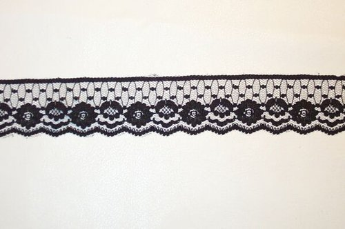 Lace Trimmings - Black