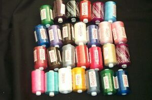 Florescent Colour Sewing Thread
