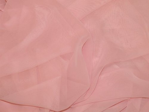 "CLEARANCE: Georgette Fabric 45"" wide (Pink) - SAVE 30%"