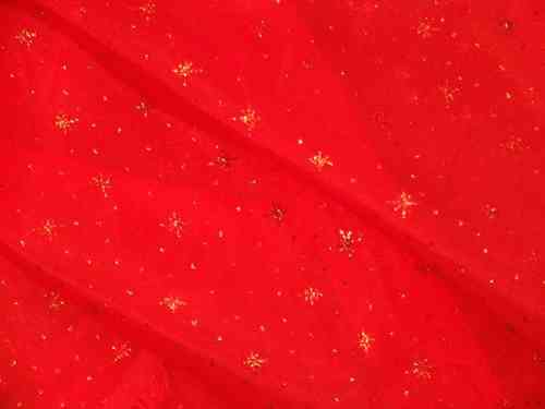 Sparkle Organza (Red)