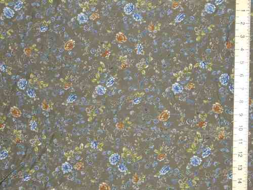 "Printed Crepe Dress Fabric (58"" wide)"