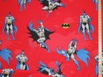 Printed Pure Cotton Fabric - Batman