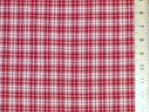 "CLEARANCE: Checked Woven Polycotton Fabric 56"" wide - SAVE 60%"