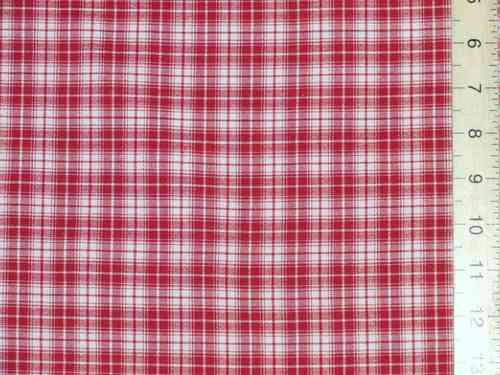 "CLEARANCE: Checked Woven Polycotton Fabric 54"" wide - SAVE 60%"