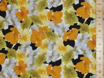 Printed Pure Cotton Fabric (Yellow)