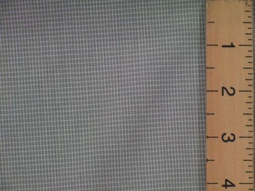 "CLEARANCE: Small Checked Polycotton Fabric 60"" wide - SAVE 50%"