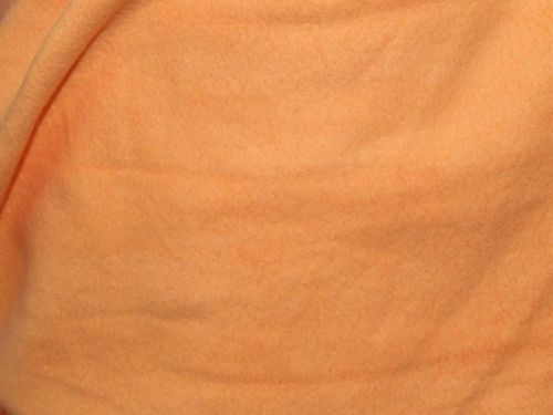 "CLEARANCE: Fleece (Peach) 60"" wide - SAVE 50%"