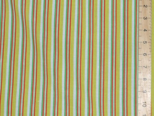 "CLEARANCE: Cotton Stripe Fabric 58"" wide - SAVE 50%"