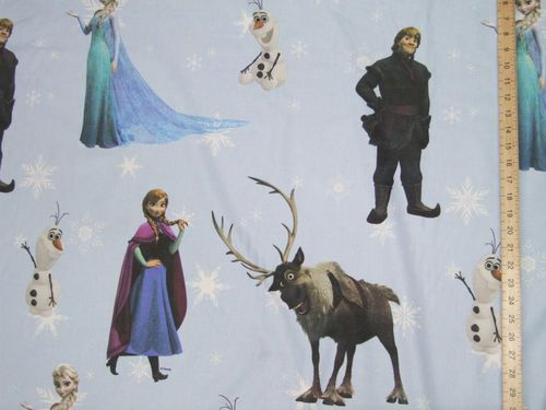 Printed Pure Cotton Fabric - FROZEN