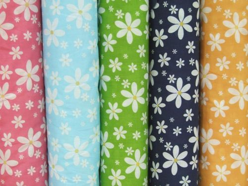 New Daisey Print Polycotton