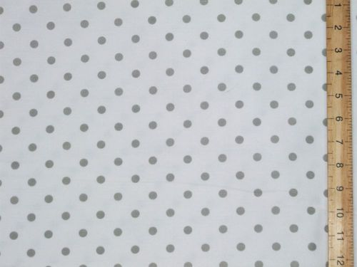 "Extra Wide Polka Dot Polycotton 96"" wide (sheeting)"