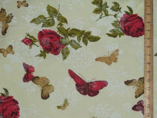 "Extra Wide Printed Polycotton 96"" wide (sheeting)"
