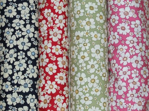 Floral Print Pure Cotton Fabrics