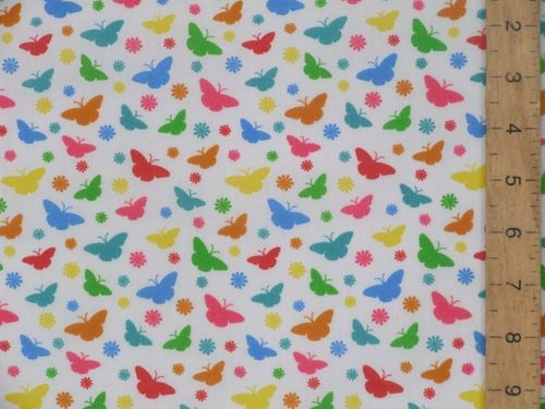 Printed Polycotton - Butterflies