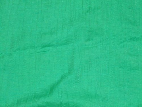 Crushed Polyester Fabric (Green)