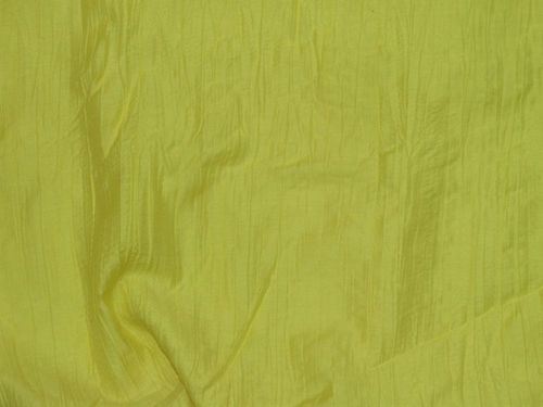 Crushed Polyester Fabric (Yellow)
