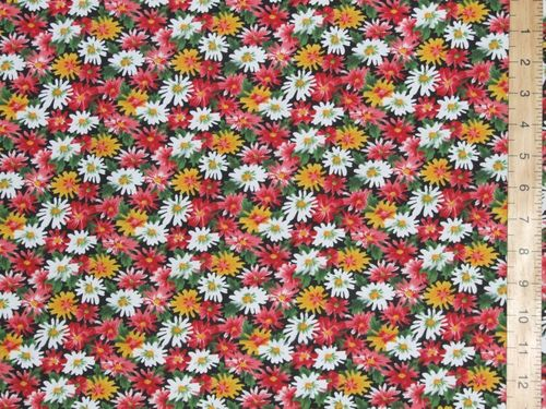 Printed Polycotton Fabric Florals