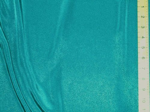 "CLEARANCE: Jacquard Fabric (Teal) 58"" wide - SAVE 50%"
