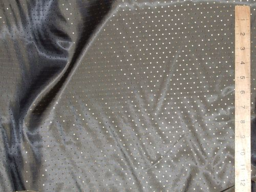 "CLEARANCE: Two-Tone Dotted Polyester Fabric 58"" wide SAVE 50%"