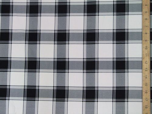 "Premium Tartan Crepe Dress Fabric (60"" wide)"