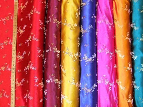 Oriental Design Brocade Fabric