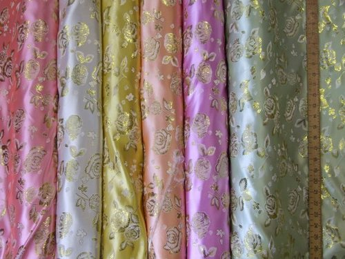 "Rich Brocade Fabric (48"" wide)"