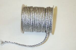Silver Twist Rope Braid
