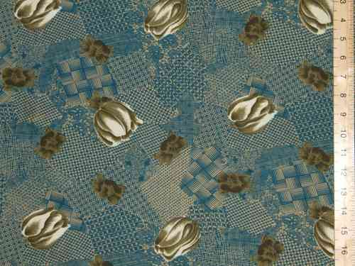 Printed Crepe Dress Fabric