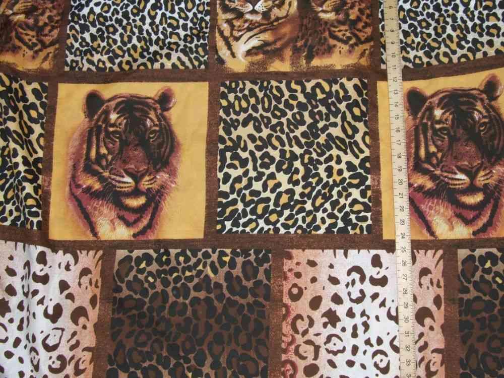 Polyester Tiger Print (90
