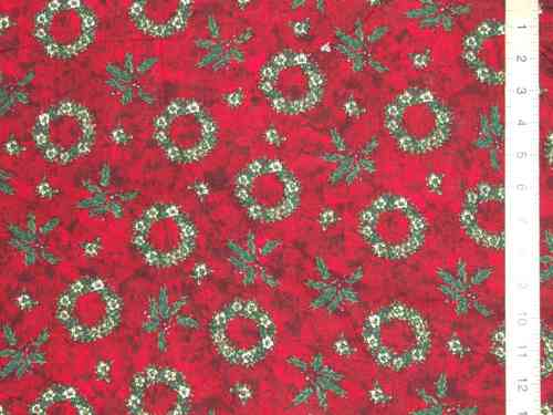 "Christmas Prints Pure Cotton Fabric (56"" wide)"