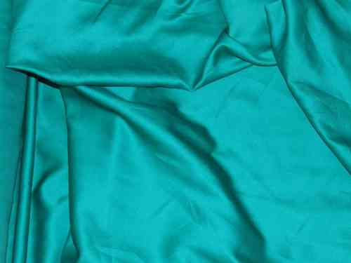 "CLEARANCE: Plain Sateen (Jade Green) 60"" wide SAVE 50%"