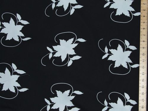 "Printed Peachtouch Crepe Dress Fabric (58"" wide)"