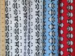 Panda Printed Polycotton Fabric