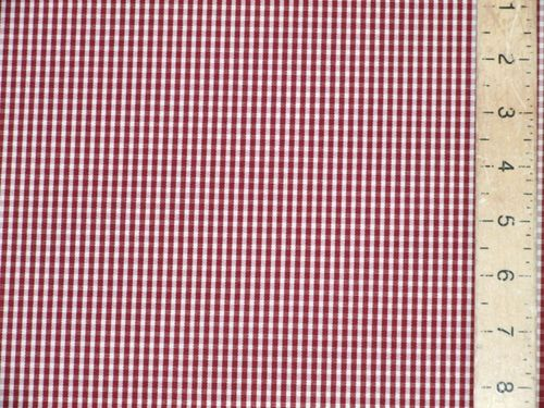 "CLEARANCE: Checked Heavy Cotton Fabric 60"" wide - SAVE 50%"