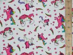 Unicorn Printed Pure Cotton (White)